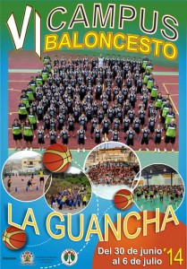 Cartel VI Campus de Baloncesto
