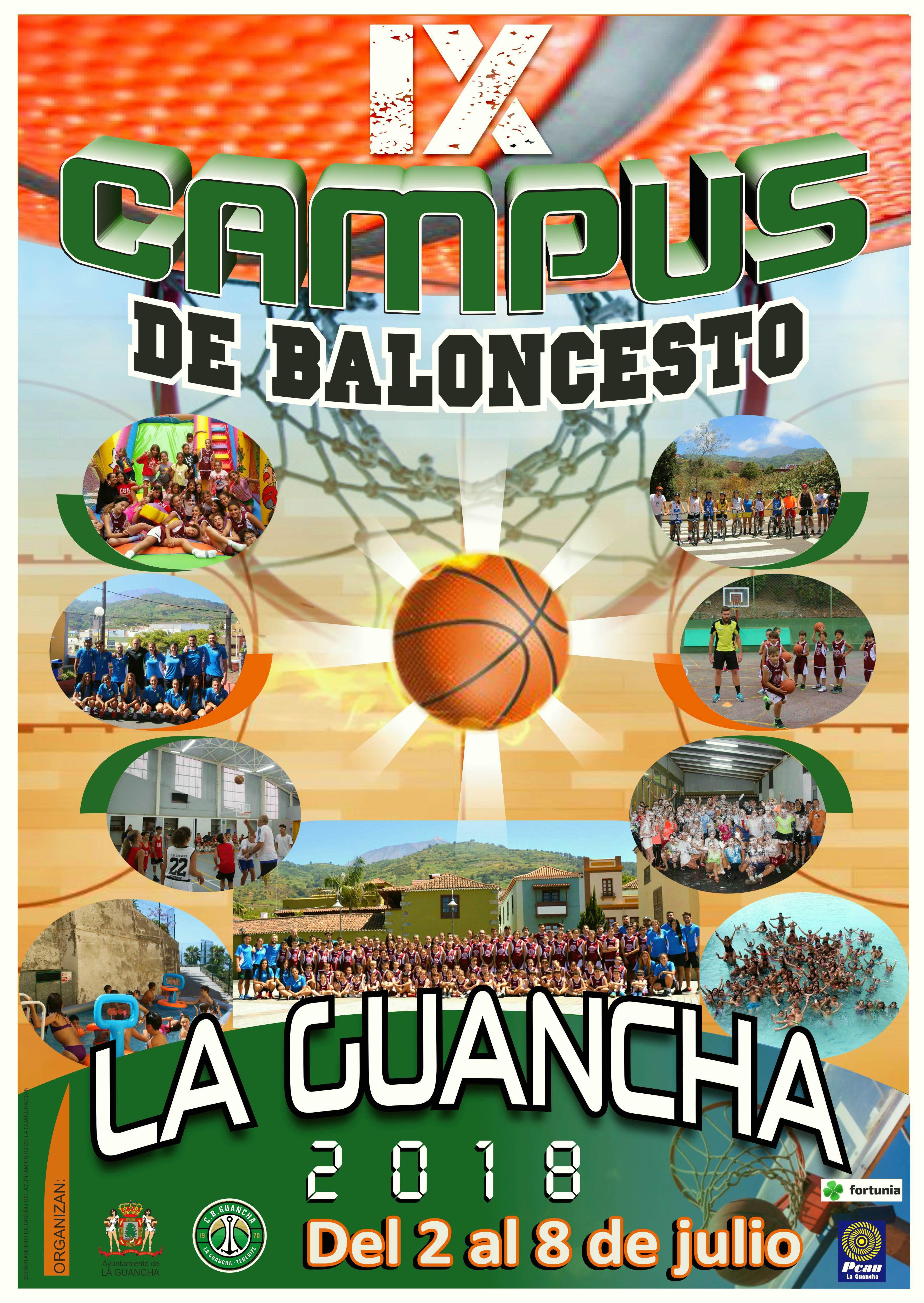 Presentado el IX Campus de Baloncesto en La Guancha