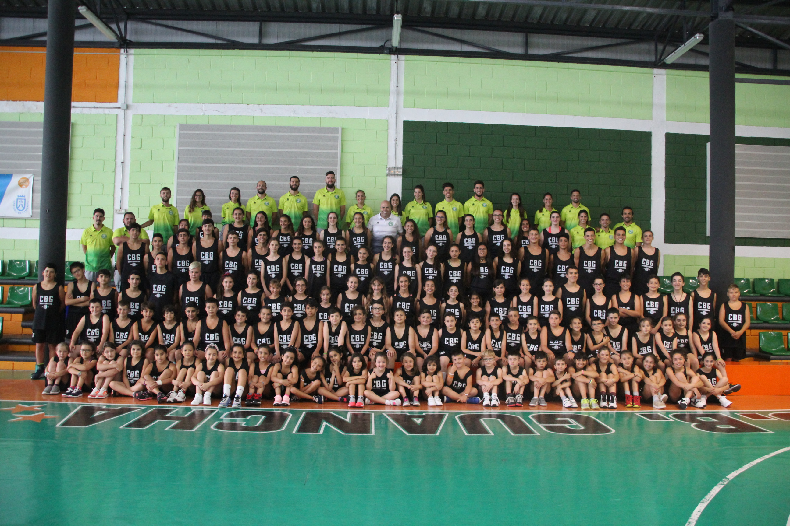 Se clausura, con éxito de participación, el XIX Campus de Baloncesto en La Guancha